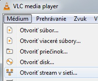 Návod VLC