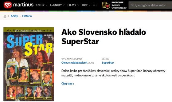 Superstar kniha